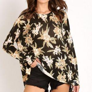 Show Me Your Mumu Floral Bonfire Sweater